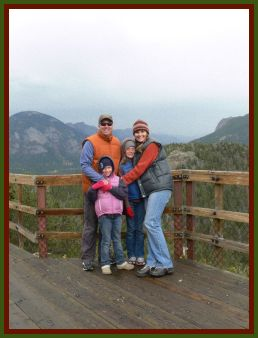 Family pic at rmnp