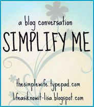 Simplify me button