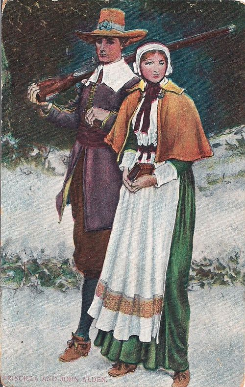 Pilgrim couple